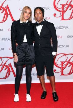 Pharrell Williams and fiancée