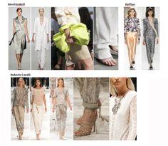 My favourite styles of Spring Summer 2014 COLLECTION apparel, shoes and make up by Reed Krakoff, Ruffian, Roberto Cavalli  ------- i miei preferiti della COLLEZIONE moda Primavera Estate 2014 abbigliamento scarpe accessori e trucco