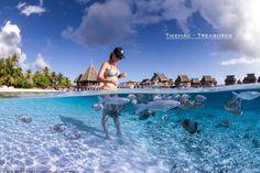 #Tikehau #Lagoon #Polynesia © Paul Cangemi