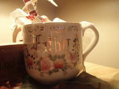 Lovely little 'father' sentiment cup $8.00