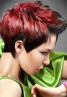 red Unique Hair Color Ideas Unique Hair Color Ideas 2013