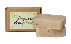 Men's Frontiersman Natural Organic Soap soaps, natur organ, essential oils, mint tea, nook, organ soap, jensan mint, essenti oil, shea butter