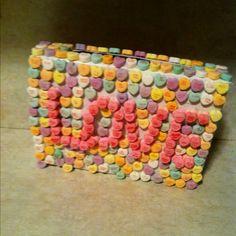 valentin box, cereal boxes