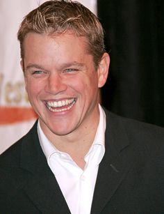 Matt Damon....nothing else need be said.  :)