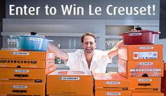 Enter to #win @LeCreuset products and check out the #LCTechniques video series from @Ruhlman