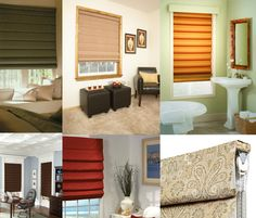 How to Clean Roman Shades #springcleaning #windowtreatments