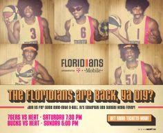 el heat, miami floridian, floridian throwback, throwback poster, super star