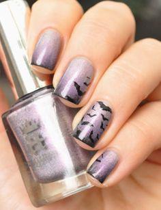 Halloween-bat-nails-art-designs-ideas-of-2014