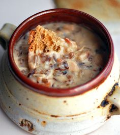 Chicken Bacon Wild Rice Soup