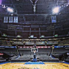 The Thunderdome aka Chesapeake Energy Arena. Ready for playoffs.
