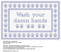 Wash Your Damn Hands Subversive Sampler