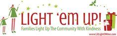 lights, light em, idea, famili, random acts, kind, christma, the holiday, kid