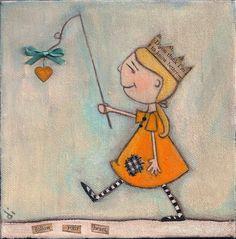 dudadaz, heart, art paintings, carrot, dian duda, painting art, inspir, illustr, follow