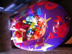 Beach theme gift basket!