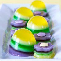 easter egg jello
