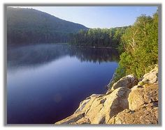 Little Rock Pond, Green Mountain National Forest, Vermont.