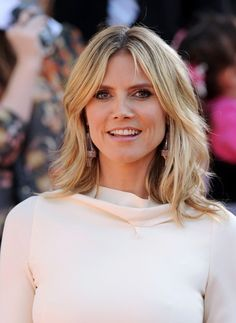 Heidi Klum Medium Layered Cut