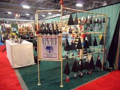 Wind chime display