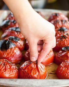 three ways to skin a tomato (I'm definitely going to try the freezer method)
