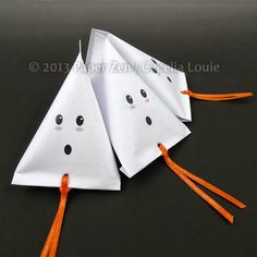 Halloween Ghost Party Favor Bags