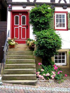 Red door  #red #doors #myobsessionwithreddoors