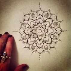 flower mandala tattoo, tattoo ideas, henna designs, feet tattoos, back tattoos, flower tattoos, shoulder tattoos, mandala tattoo design, design tattoo