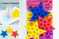 They'll think you are a star. What a fun addition to any holiday party Star Ice and Star Wands. And they make perfect gifts and perfect stocking stuffer for any kind of kid. They will be seeing stars! pickyourplum.com