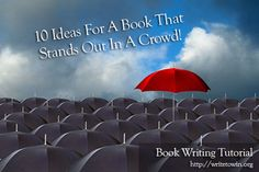 book write, book worth, stand, book kind, career, red rock, inspir, red umbrella, crowd