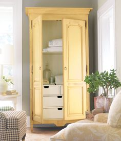 Love this armoire!