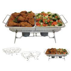 Serve-Rite 8-Piece Fold-A-Way Buffet Set