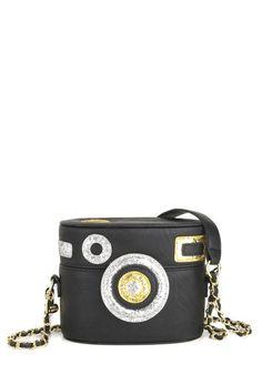 Betsey Johnson Shutterbug Bag, #ModCloth style, modcloth betsey, camera purses, camera bags, johnson shutterbug, shutterbug bag, small bags, cameras, handbags betsey johnson