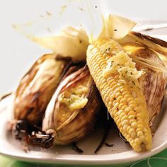 Grilled Corn with Chive Butter Recipe from Taste of Home