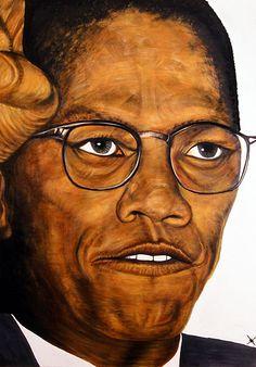 Malcolm X, 2008 Jeffrey Reid, Chicago artist