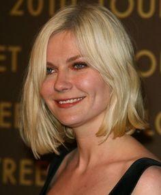 Kirsten Dunst medium bob hairstyles 2011