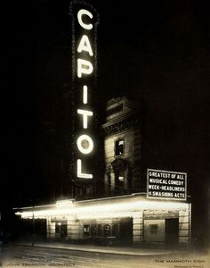 The Capitol Theater, 7921 S Halsted, c.1925, Chicago.