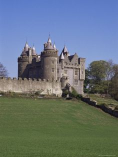 """Killyleagh Castle Dating from the 17th Century, County Down, Northern Ireland"""