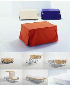 Fold away bed ! <3
