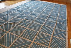 DIY Painted Fabric