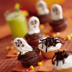 Halloween Recipes: Creepy Cupcakes Recipe