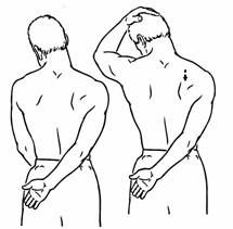 On pinterest frozen shoulder posture exercises and chair yoga