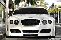 One Of Two In The World: Bentley GT Fitted With A Premier4509 Wide Body