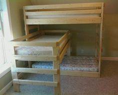 triple bunk beds - Bing Images