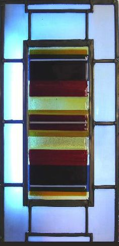 fused glass - Stephen Weir Stained glass, Glasgow, Scotland