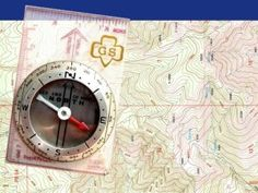 How to use a compass for Brownies!