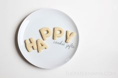 Make Happy Cookies to brighten someone's day