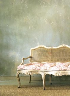 the walls & the settee
