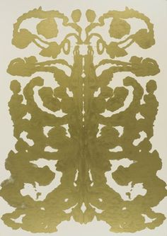 Andy Warhol's Rorschach paintings