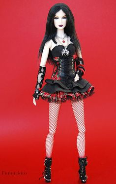 Goth Barbie rocks!!
