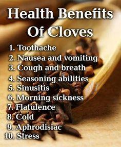 Health Benefits of Cloves | Homestead Survivalist