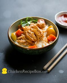 Yummy Slow Cooker Asian Ginger Chicken Stew